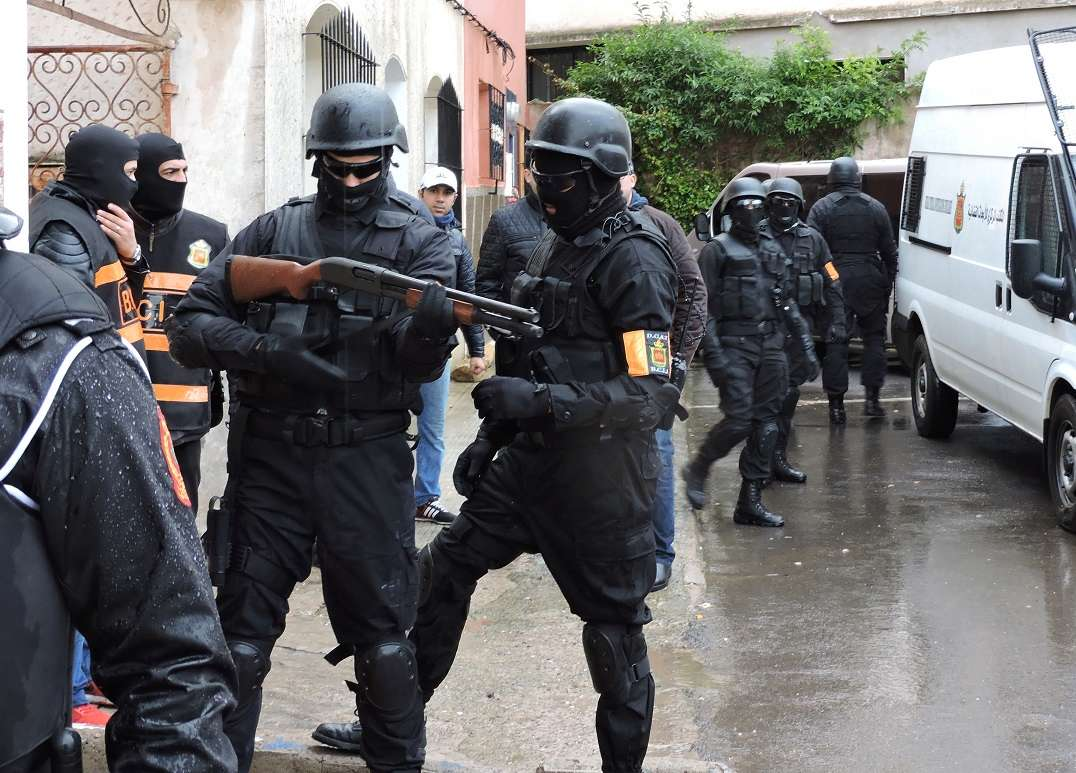 Moroccan Special Forces/Forces spéciales marocaines  :Videos et Photos : BCIJ, Gendarmerie Royale ,  - Page 9 14856410