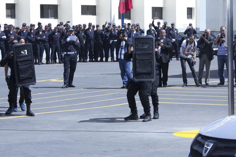 Moroccan Special Forces/Forces spéciales marocaines  :Videos et Photos : BCIJ, Gendarmerie Royale ,  - Page 10 Police12