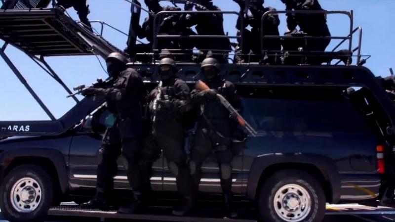 Moroccan Special Forces/Forces spéciales marocaines  :Videos et Photos : BCIJ, Gendarmerie Royale ,  - Page 10 Sans_t22