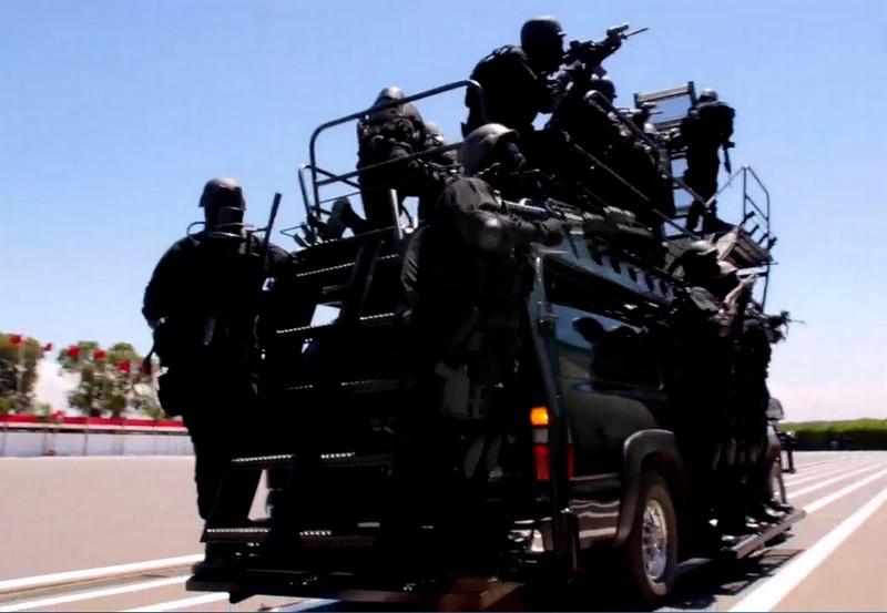 Moroccan Special Forces/Forces spéciales marocaines  :Videos et Photos : BCIJ, Gendarmerie Royale ,  - Page 10 Sans_t23