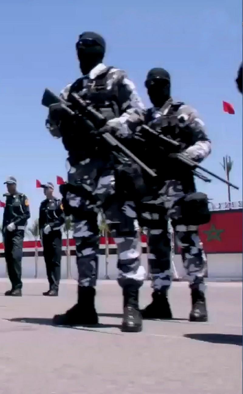 Moroccan Special Forces/Forces spéciales marocaines  :Videos et Photos : BCIJ, Gendarmerie Royale ,  - Page 10 Sans_t24