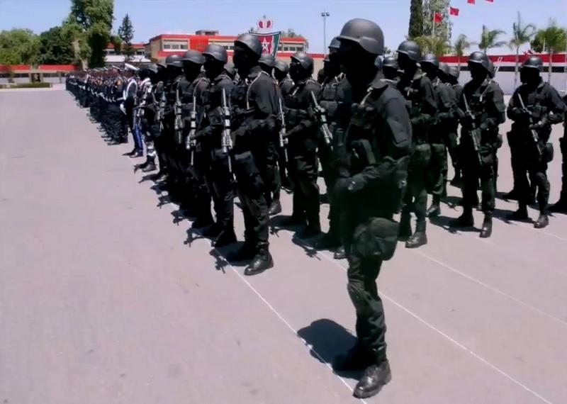 Moroccan Special Forces/Forces spéciales marocaines  :Videos et Photos : BCIJ, Gendarmerie Royale ,  - Page 10 Sans_t25