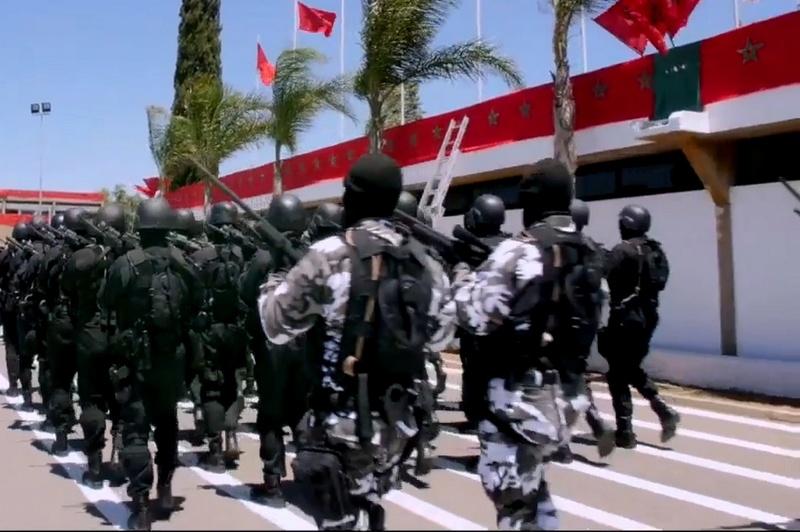 Moroccan Special Forces/Forces spéciales marocaines  :Videos et Photos : BCIJ, Gendarmerie Royale ,  - Page 10 Sans_t26
