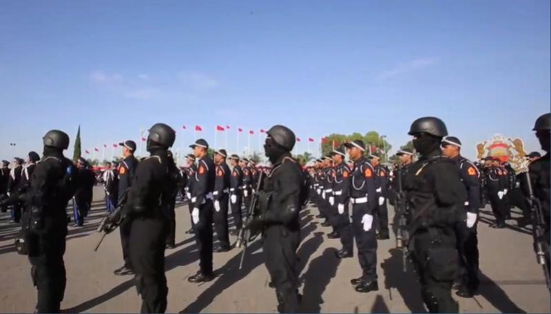 Moroccan Special Forces/Forces spéciales marocaines  :Videos et Photos : BCIJ, Gendarmerie Royale ,  - Page 10 Sans_t28