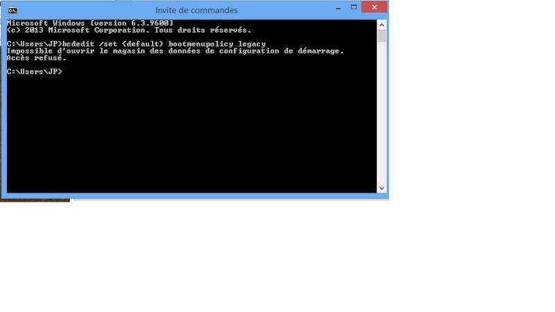 Windows 8.1 ou pas Dos210
