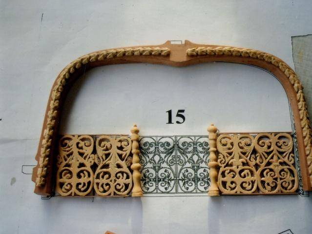 Fleur de Lis, Partie arrière au 1/36 et 1/24 1510