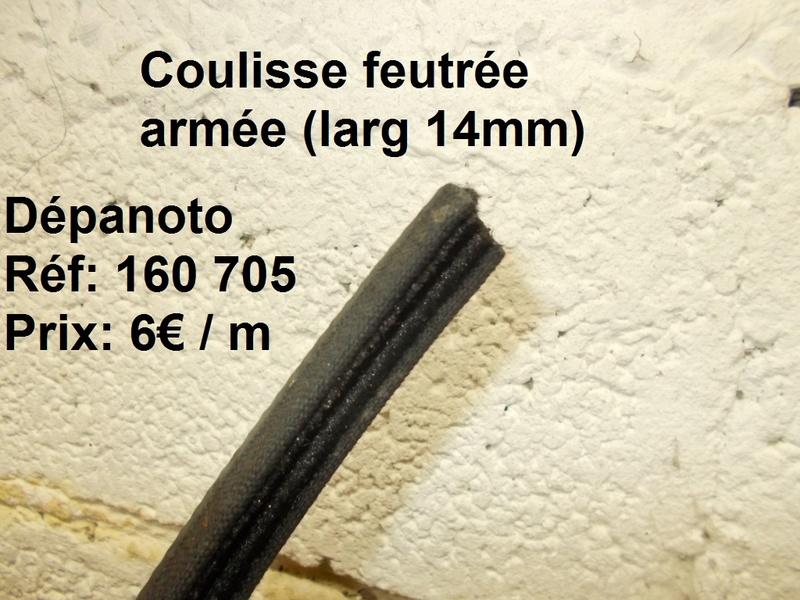 démontage lève vitre Coulis11