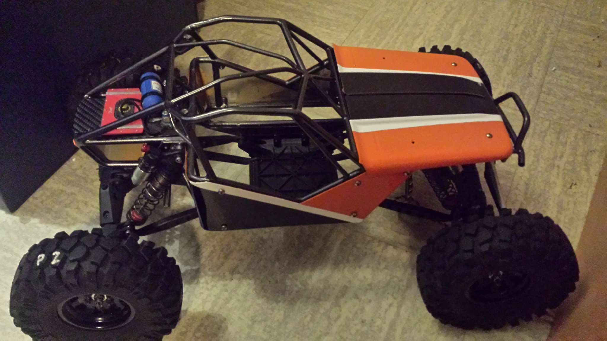 WRAITH Axial - Ultra4 Maxxis cage G-marc G04 20170211