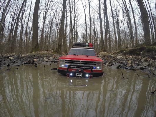 Vaterra Chevrolet Blazer K5 Ascender 1986 Gopr0410