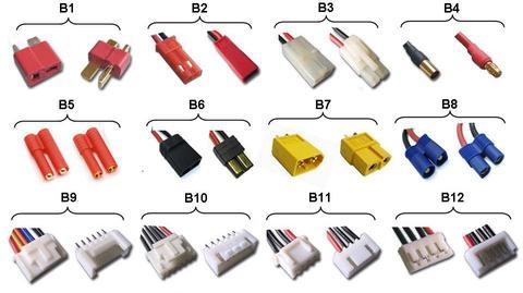 Les connecteurs les plus courants Rambat10