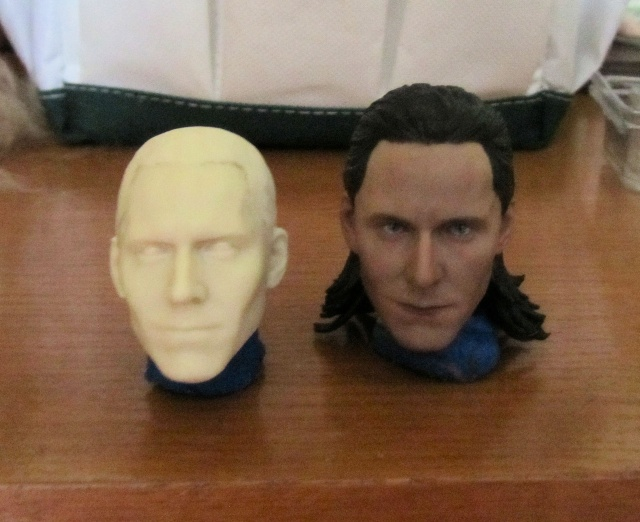 Loki, cheveux en mohair Loki_111