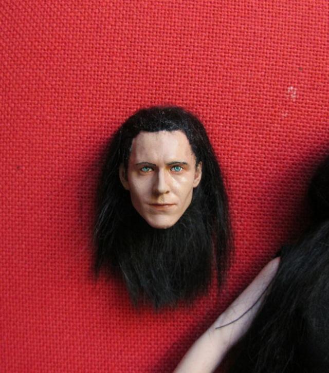 Loki, cheveux en mohair Loki_211