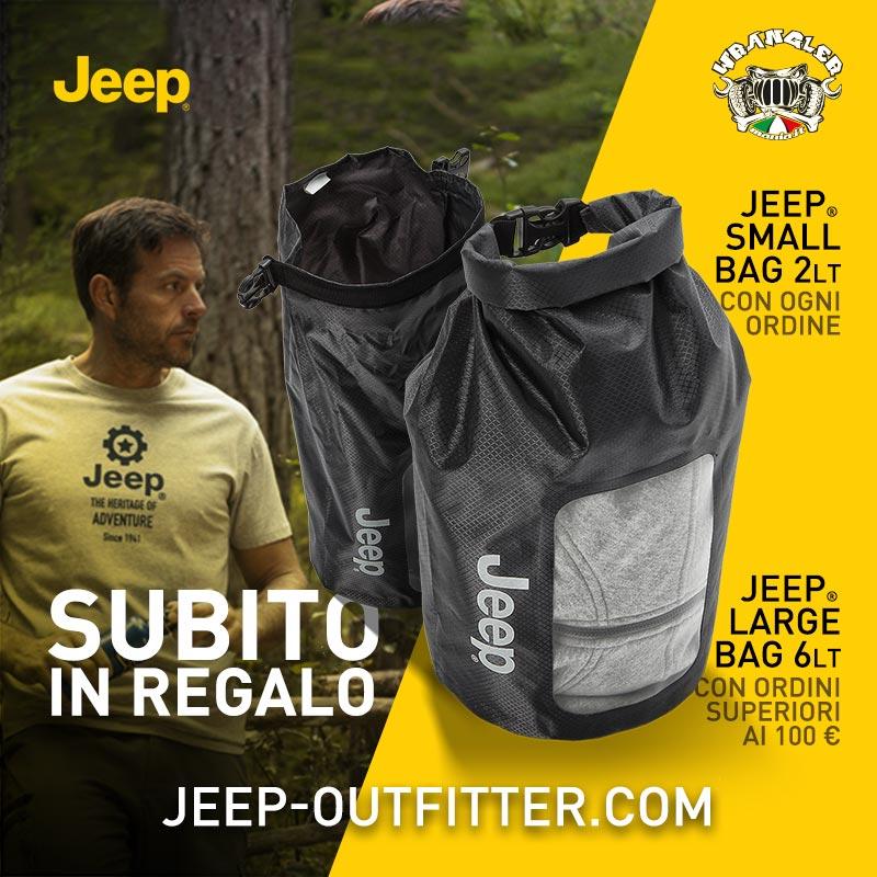 Jeep® Bag: scopri la nuova promo Jeep Outfitter!  Jeepou12