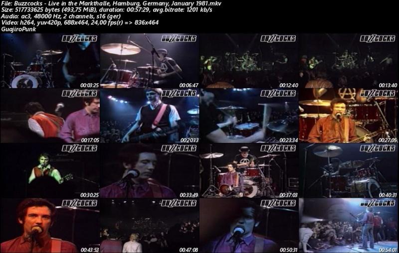BUZZCOCKS - Live in the Markthalle, Hamburg, Germany, January 1981 Buzzco10