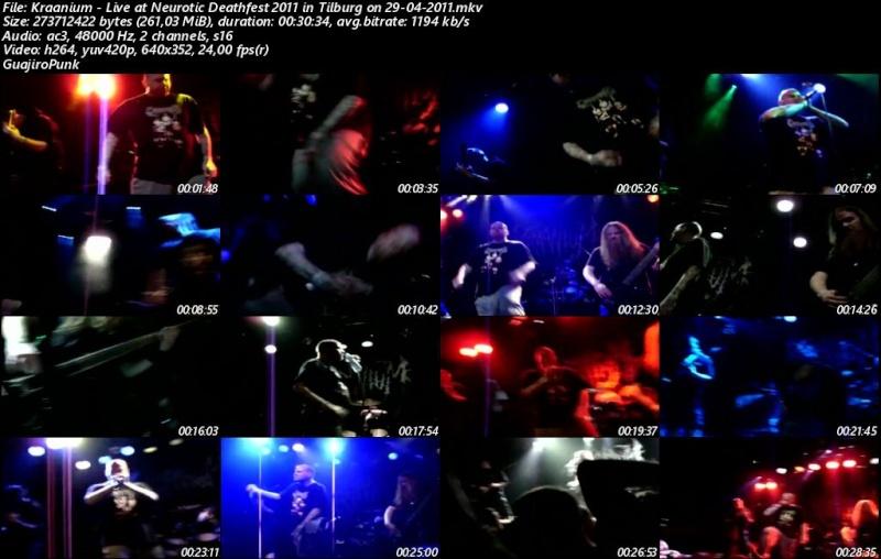 KRAANIUM - Live at Neurotic Deathfest 2011 in Tilburg on 29-04-2011 Kraani10