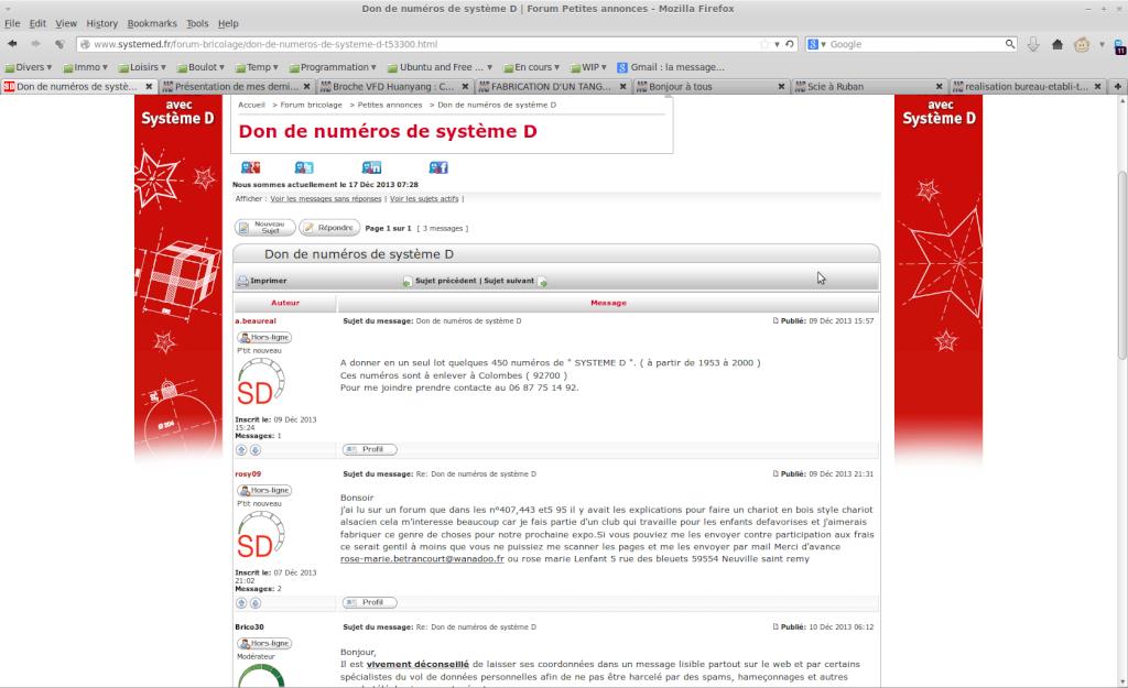 """Forum """" systeme d """"  Captur10"""