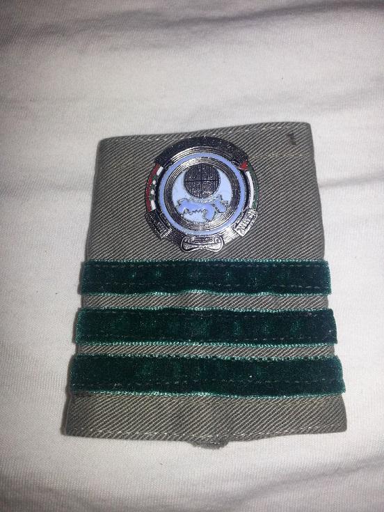 Unknown Iraqi Shoulder rank Iraqip10