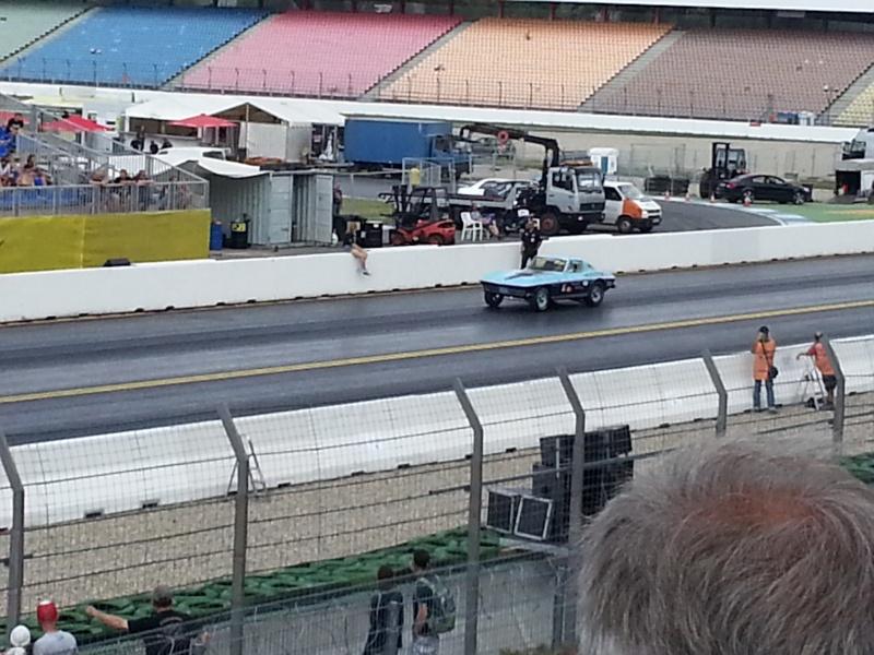 Eine tanzende Corvette bei den Nitrolympx 2013 20130812