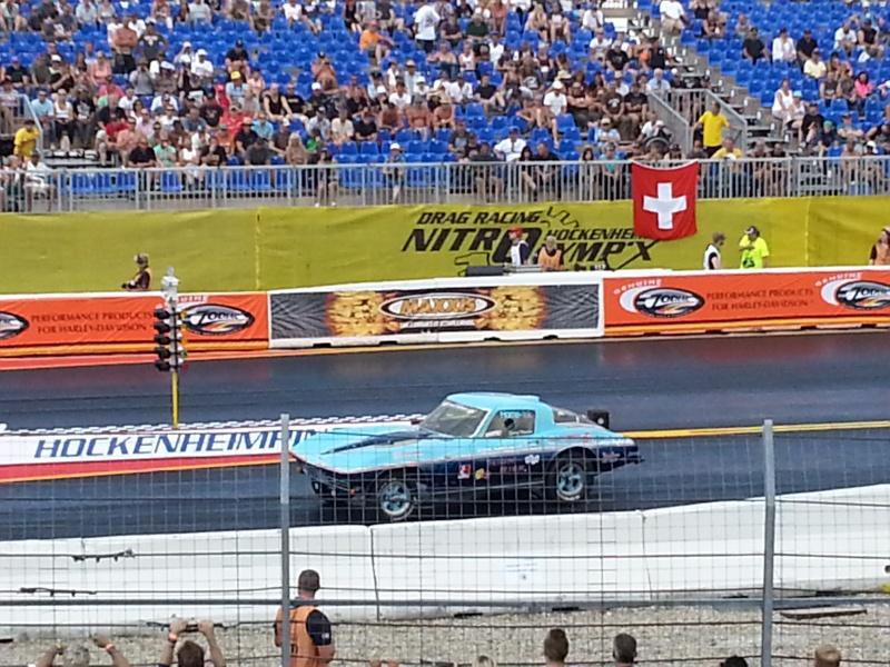 Eine tanzende Corvette bei den Nitrolympx 2013 20130813