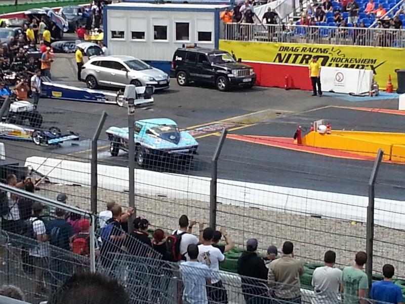 Eine tanzende Corvette bei den Nitrolympx 2013 20130814
