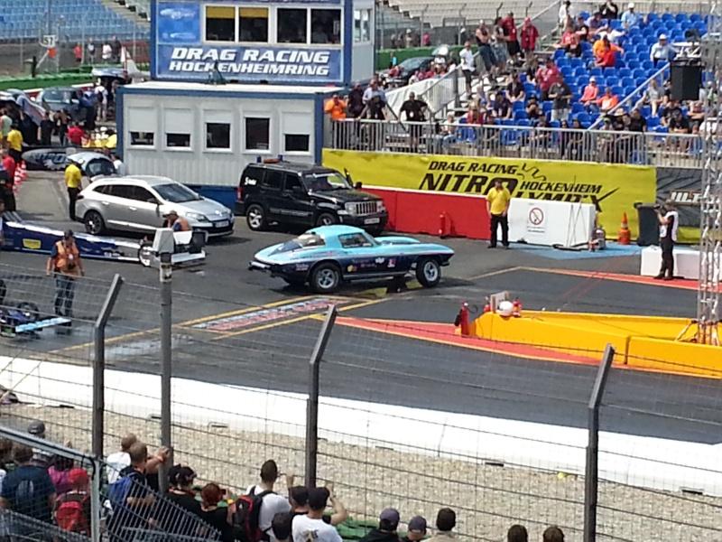 Eine tanzende Corvette bei den Nitrolympx 2013 20130815