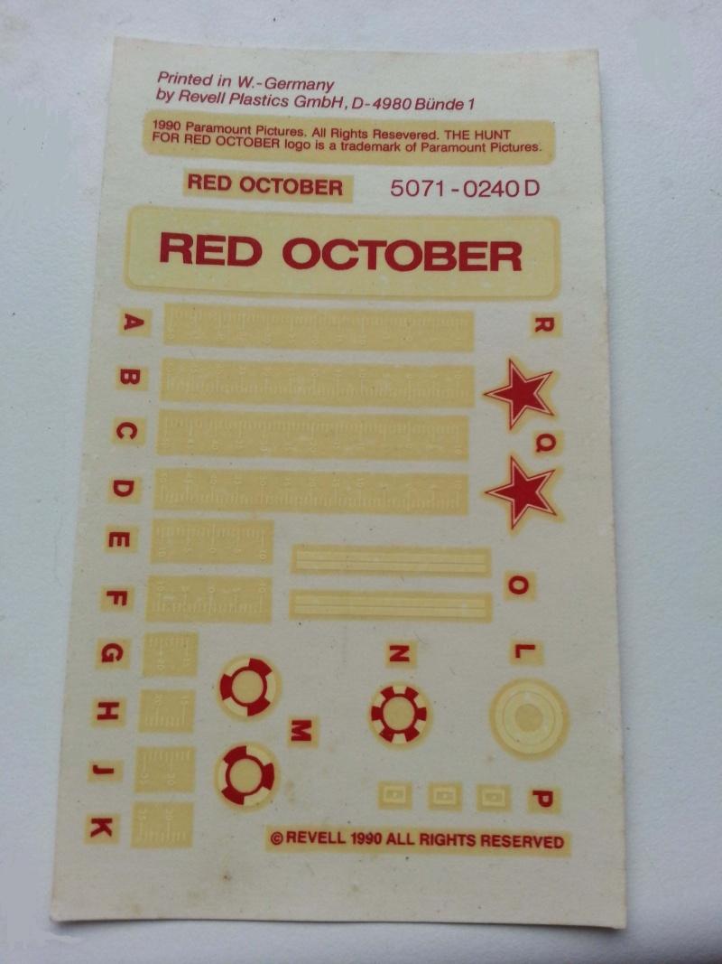"Roter Oktober aus ""Jagd auf Roter Oktober"" von Revell 1:400 20131111"
