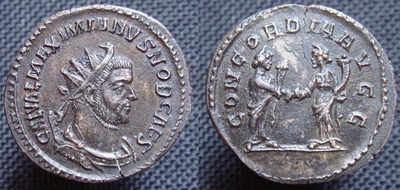 Aurelianus de Maximien Galère - Lyon - Exergue ? Aureli11