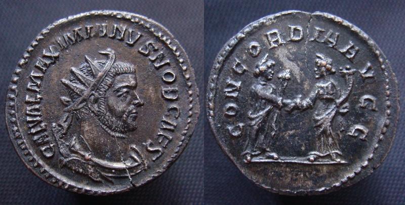 Aurelianus de Maximien Galère - Lyon - Exergue ? Aureli12