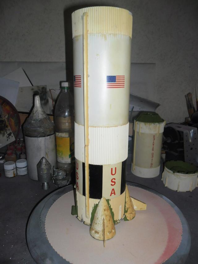 Saturn V in 1:96. Renovierung und Umbau zum Skylabträger. Teil 1 A11
