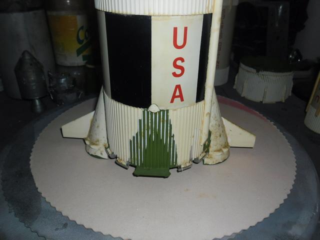 Saturn V in 1:96. Renovierung und Umbau zum Skylabträger. Teil 1 C10