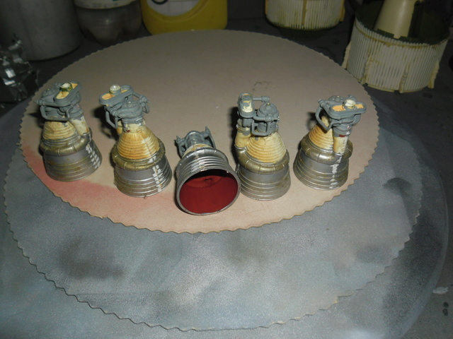 Saturn V in 1:96. Renovierung und Umbau zum Skylabträger. Teil 1 F10