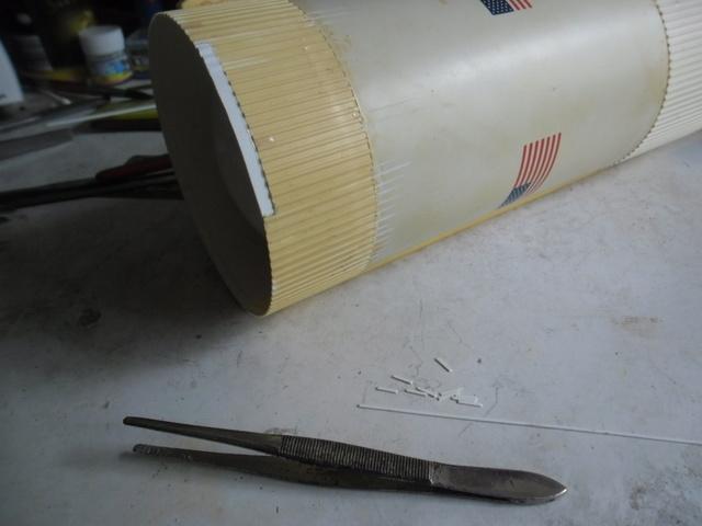 Saturn V in 1:96. Renovierung und Umbau zum Skylabträger. Teil 1 Sam_2815