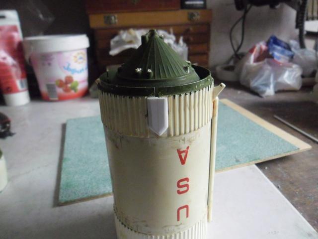 Saturn V in 1:96. Renovierung und Umbau zum Skylabträger. Teil 1 Sam_2820