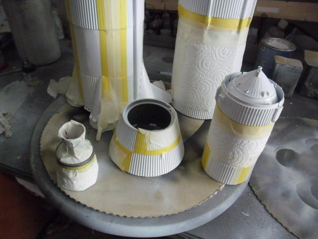 Saturn V in 1:96. Renovierung und Umbau zum Skylabträger. Teil 1 Sam_3130