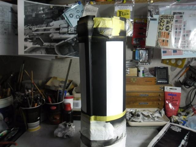 Saturn V in 1:96. Renovierung und Umbau zum Skylabträger. Teil 1 Sam_3131