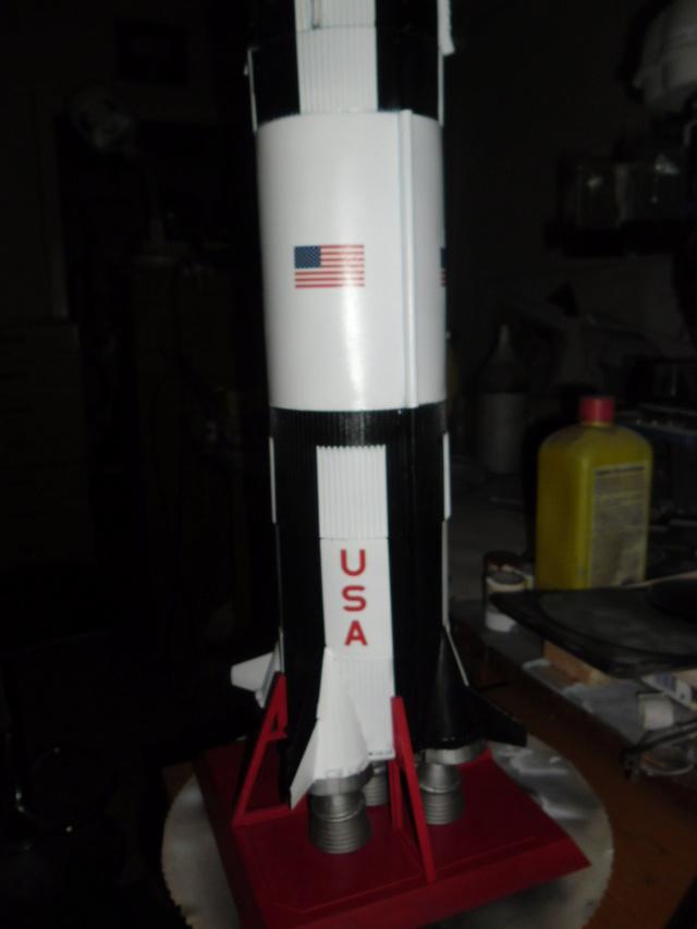Saturn V in 1:96. Renovierung und Umbau zum Skylabträger. Teil 1 Sam_3134