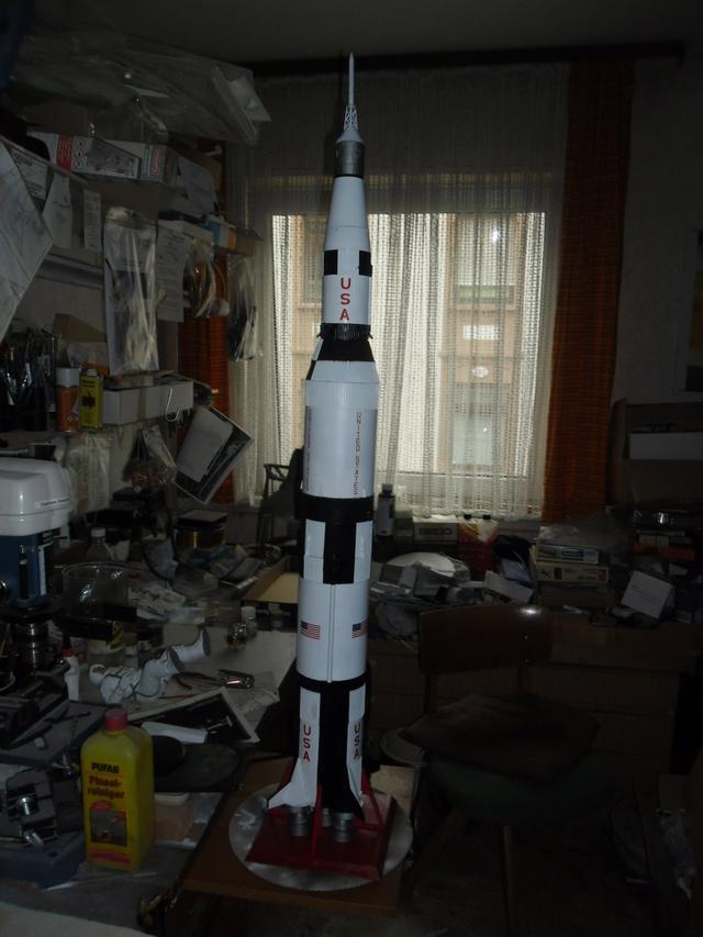 Saturn V in 1:96. Renovierung und Umbau zum Skylabträger. Teil 1 Sam_3136