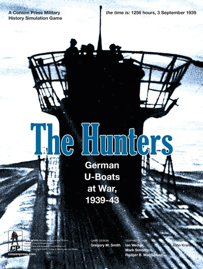The Hunters (Consim Press/GMT) 37410