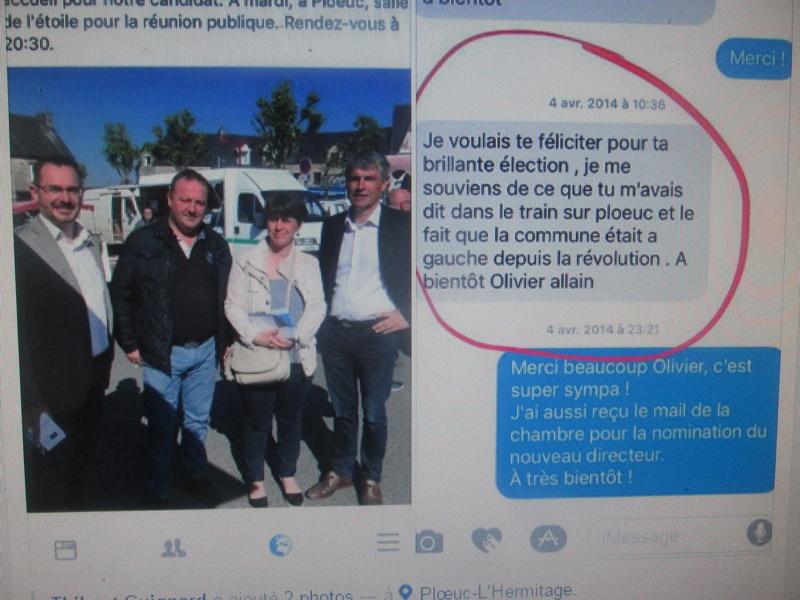 "Macron ""en marche"" ! A_olli10"