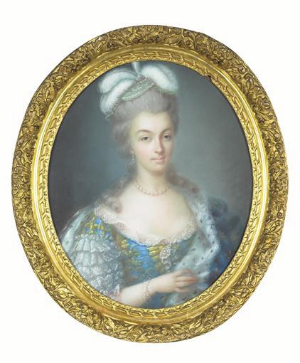 Vallayer - Marie-Antoinette, par Anne Vallayer-Coster 1780_m10