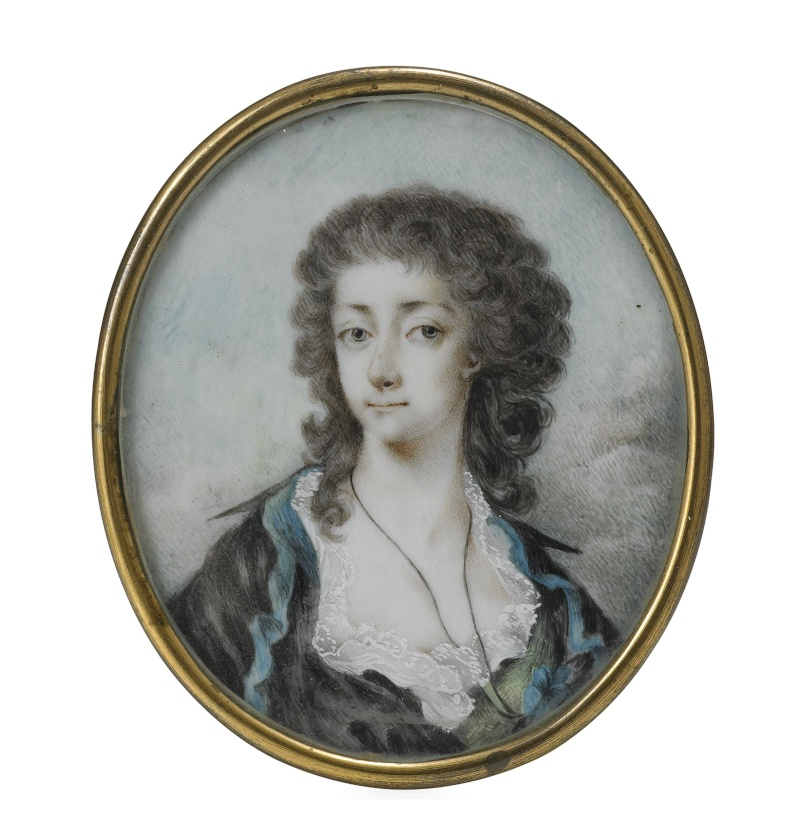 La comtesse Sophie Piper, née Eva Sophia von Fersen, soeur d'Axel de Fersen 203710