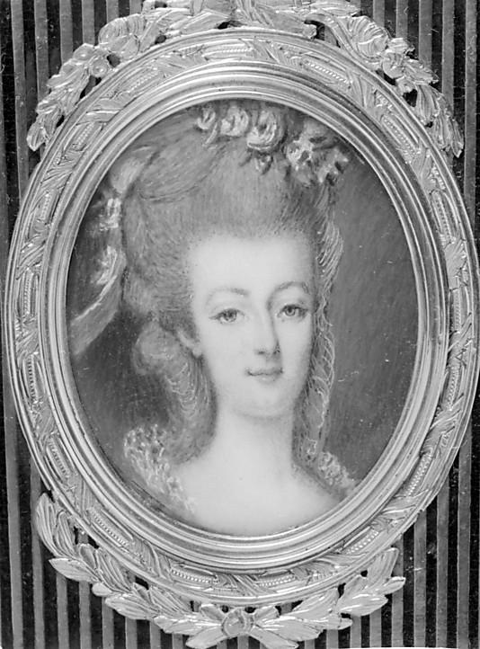 Portraits de Marie-Antoinette et Louis XVI, par Louis-Marie Sicard, dit Sicardi ou Sicardy 21363810