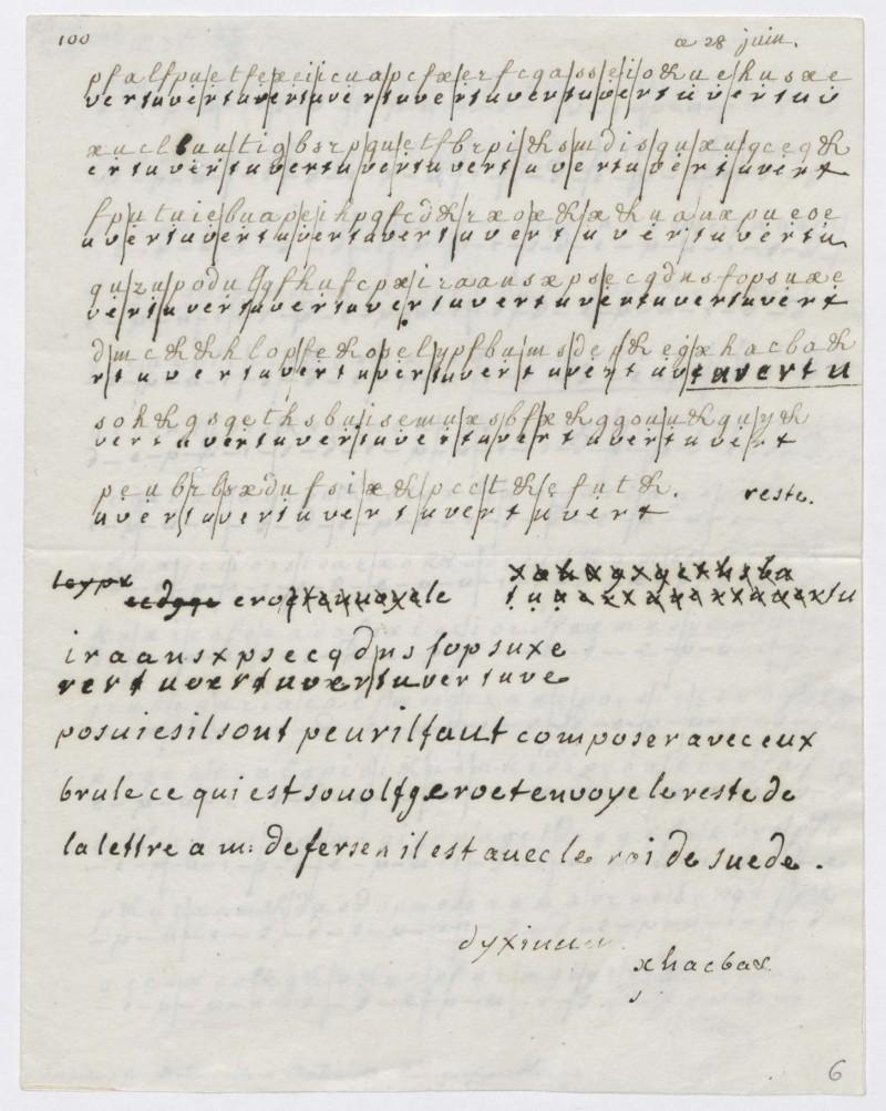 FERSEN - La correspondance de Marie-Antoinette et Fersen : lettres, lettres chiffrées et mots raturés - Page 14 28_jui10