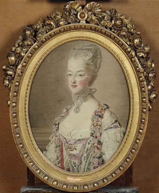 Portraits de Marie-Antoinette par et d'après François-Hubert Drouais 79-00010