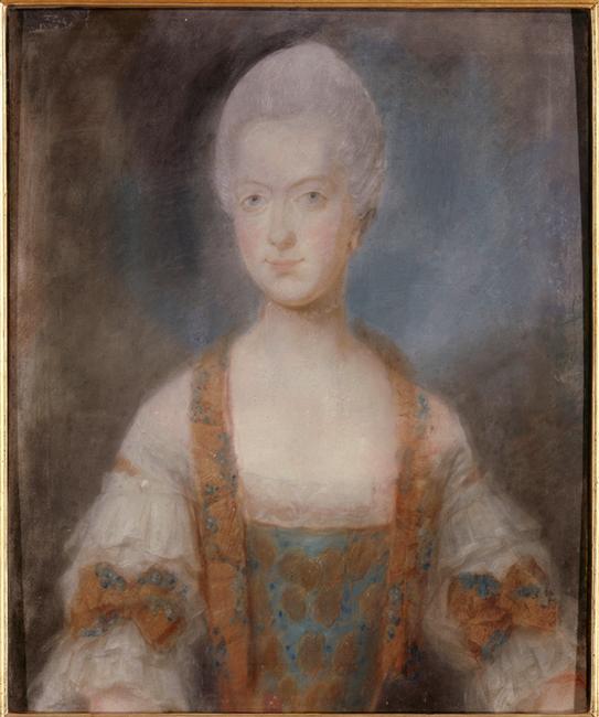 Premiers portraits de Marie-Antoinette par J. Ducreux (et d'après) 96-02113