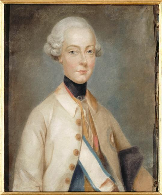 Premiers portraits de Marie-Antoinette par J. Ducreux (et d'après) 96-02114