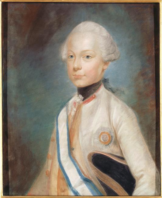 Premiers portraits de Marie-Antoinette par J. Ducreux (et d'après) 96-02116