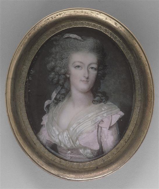 Marie Antoinette, miniatures de ou d'après François Dumont 98-00511