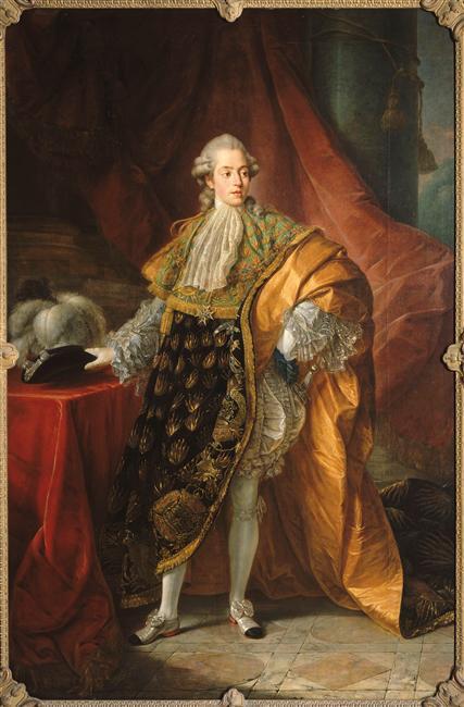 Le comte Charles-Philippe d'Artois, futur Charles X Callet10