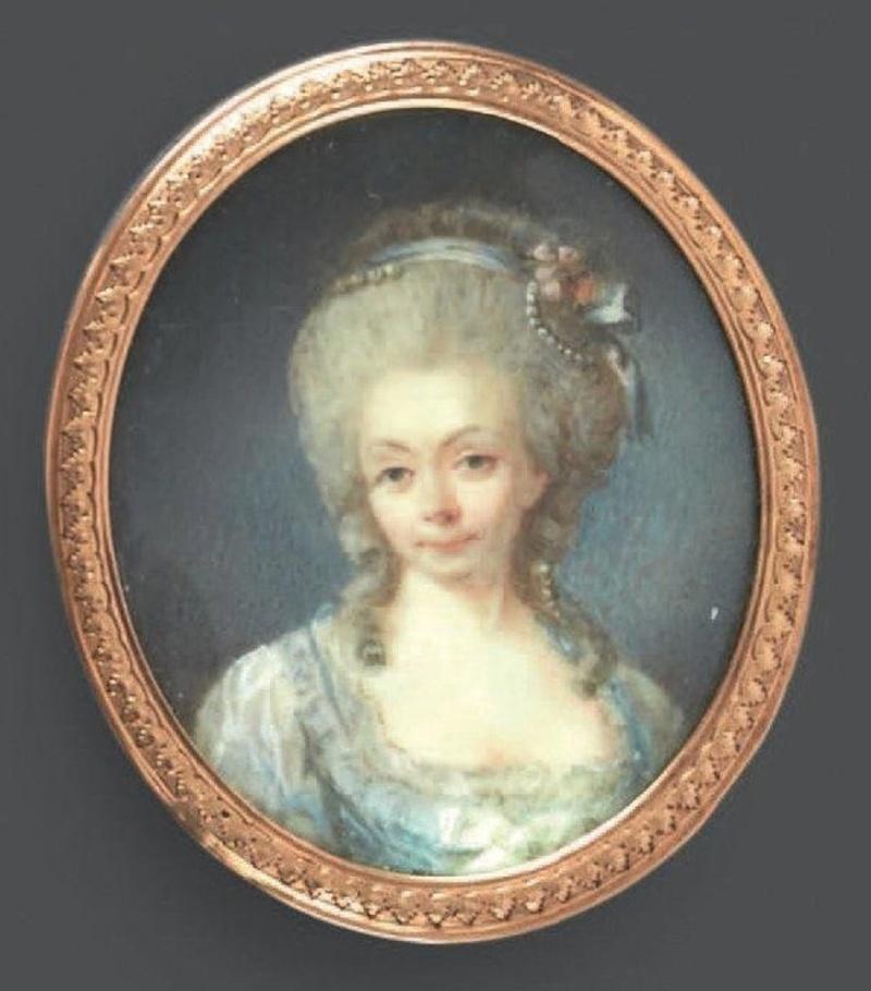 Maison et dames du Palais de la reine Marie-Antoinette Captu160